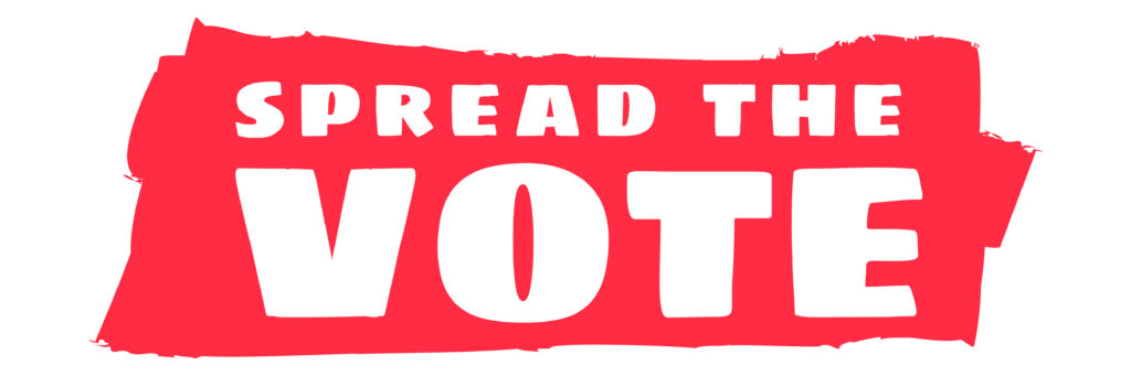 Spread the Vote Logo
